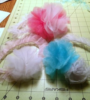 DIY tulle baby headband- Pinteresting Activities